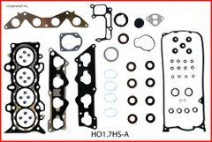 Full Gasket Set - D17A2 & D17A6 (EngineTech HO1.7K-1) 01-05