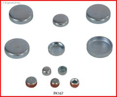 Frost Plug Set - Steel (EngineTech PK167) 98-10