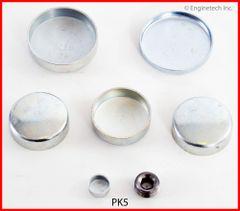 Frost Plug Kit - Steel (EngineTech PK5) 62-89