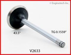 "Exhaust Valve - 1.624"" (EngineTech V2633) 92-03 See Listing"