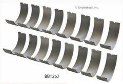 Rod Bearing Set (EngineTech BB125J) 59-74