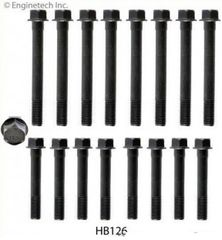 Head Bolt Set - For Cast Iron Cyl Head (EngineTech HB126) 80-95