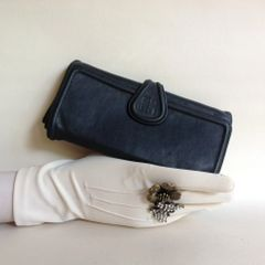 Givenchy Nightingale Well Loved Large Lambs Leather Purse Wallet With Leather Lining
