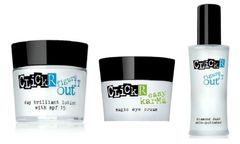 ClickR Day Brilliant Lotion+Magic Eye Cream+Diamond Dust Skin Polisher Set
