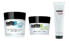 ClickR Day Brilliant Lotion+Magic Eye Cream+Derma Drama Hot Face Mask Set