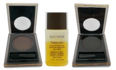 Elizabeth Arden 2Pcs Color Intrigue Eyeshadow + Laura Mercier Remover Set