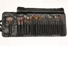 Dollface Cosmetics 24 piece professional brush set