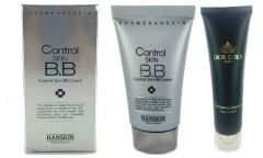 Hanskin Control Skin BB Cream+Lior Gold Exfoliating Cleanser Set