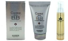 Hanskin Acne Control Skin BB Cream+Lior Gold Purifying Cleanser Set