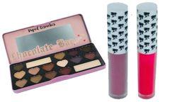 Candy Bar Eyeshadow Palette &2Pcs Doll Face Matte Lipstick Set