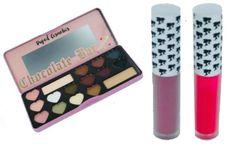 BonBons Eyeshadow Palette+2Pcs Doll Face Matte Lipstick Set