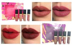 4pcs Limitless Lippies Deluxe Tartiest Creamy Matte Lip Paint Set