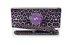 Herstyler Animal Print 1.5 inches Ceramic Flat Iron (Purple Leopard)