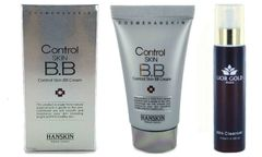 Hanskin Control Skin BB Cream+Lior Gold Milk Cleanser Set