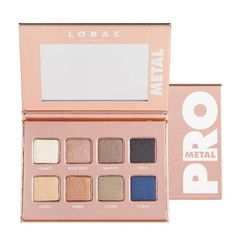 Lorac Pro METAL PALETTE in Rose Gold Eyeshadow Palette