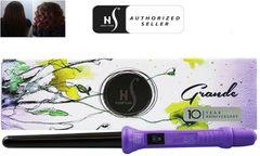 Herstyler Grande Curl Curling Iron, Purple, 18-25 Mm