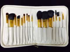 Dollface Cosmetics 16 piece professional brush set
