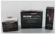 Fusion Beauty GlowFusion Bronzer+Lip Fattener+Contouring Blush Set