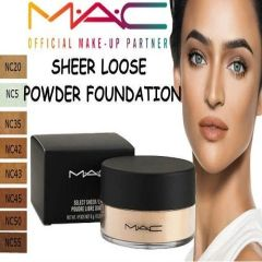MAC Sheer Loose Powder Foundation Choose Your Shade