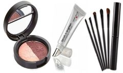 Laura Geller Eyeshadow Duo +Banish-N-Brighten Concealing +5Pcs Brush