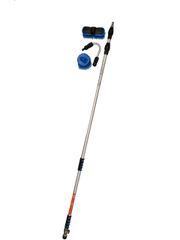 LBG - Reachmore Pro Series 6.5 - 16.1 ft. (1.98 - 4.9m) Telescopic Water Flow Wand + Gutter Gun + 2 Gutter Brushes - US$