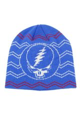 Grateful Dead Knit Beanie SYF Hat Blue