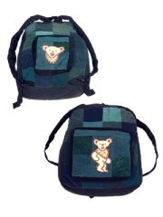 Grateful Dead Dancing Bear Corduroy Backpack