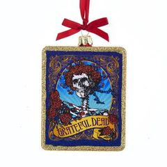 Grateful Dead Glass Ornament