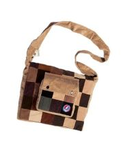 Grateful Dead SYF Patchwork Corduroy DJ Bag