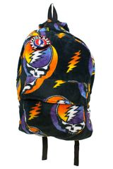 Grateful Dead SYF Rainbow Coral Fleece Backpack