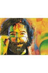 Jerry Garcia Fleece Throw