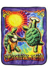 Grateful Dead Terrapin Sunshine Fleece Throw