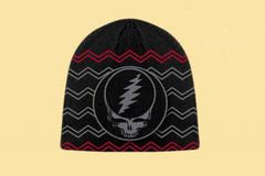 Grateful Dead Knit Beanie SYF Hat Black