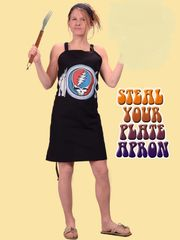 Grateful Dead Steal Your Plate Apron