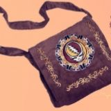 Grateful Dead Corduroy Tote with SYF Embroidery