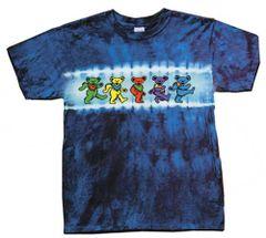 Grateful Dead Dancing Bear, Dyed Kid's T-Shirt