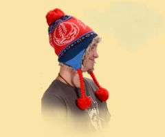 Grateful Dead SYF Ski Hat Red