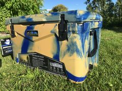 75 Quart Permafrost Roto-Molded Cooler (includes FREE cutting board and hanging wire basket)