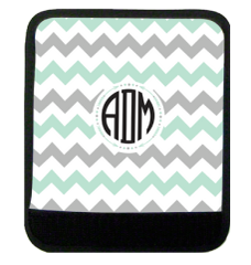 Chevron Monogram Luggage Handle Wrap