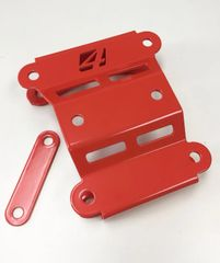 CAN AM X3 RADIUS ROD PLATE/ ORANGE