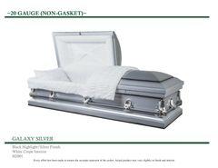 Galaxy Silver 20 Gauge Casket