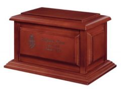 Franklin Cherry Hardwood Urn