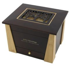 Craftsman Style Memory Chest with Tree