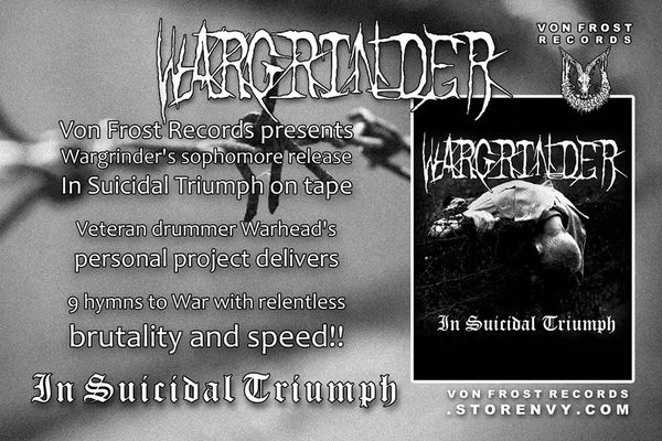 Wargrinder - In Suicidal Triumph ( Cassette ) VFR !