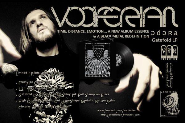 VOCIFERIAN - ɔ d ɔ ʀ a ( Vinyl ) VFR !