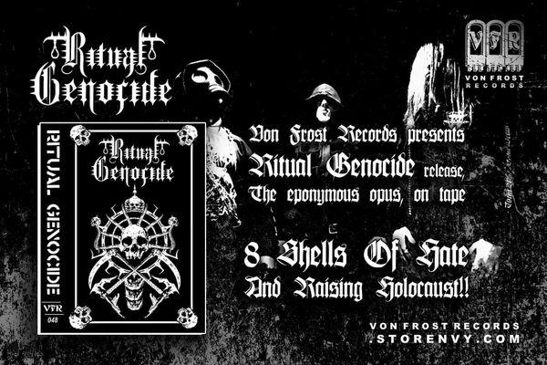 Ritual Genocide - S/T ( Cassette ) VFR !