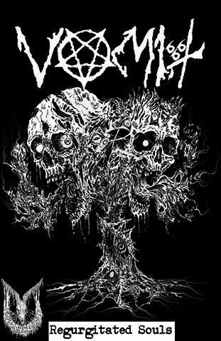 Vomit - Regurgitated Souls ( Cassette ) VFR !