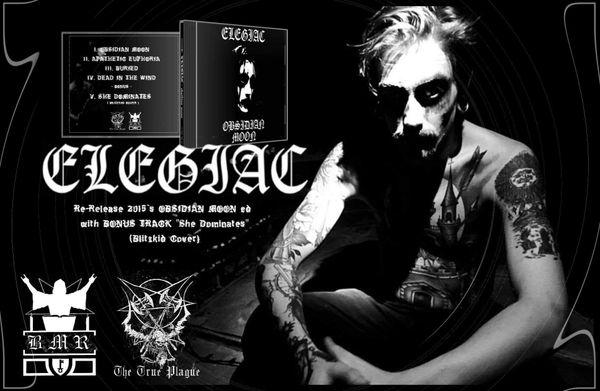 Elegiac - Obsidian Moon ( CD )