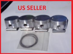 1100CC Forged Pistons Standard Compression (9.5:1) Made in USA