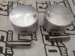 650CC Forged Pistons Standard Compression (9.5:1) Includes rings .070